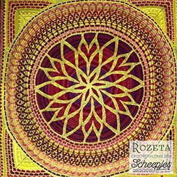 NITKA.es - Rozeta CAL Crochet Along 2019 Scheepjes Colour Crafter High Noon 2