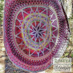 NITKA.es - Rozeta CAL Crochet Along 2019 Scheepjes Colour Crafter Witching Hour 2